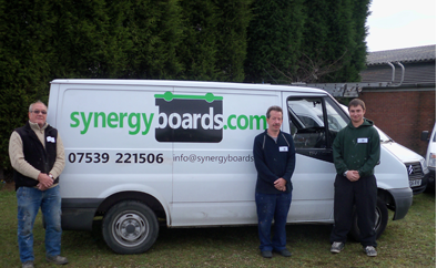 Synergy Boards Staff